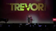 SPEECH Wanda Sykes praises Trevor Project and says that every time she is glad to be there at The Trevor Project's 2014 'TrevorLIVE' Event Honoring...