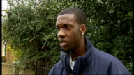 Nathan Douglas fatal stabbing ENGLAND London Wandsworth EXT Unnamed eyewitness vox pops SOT explained what happened