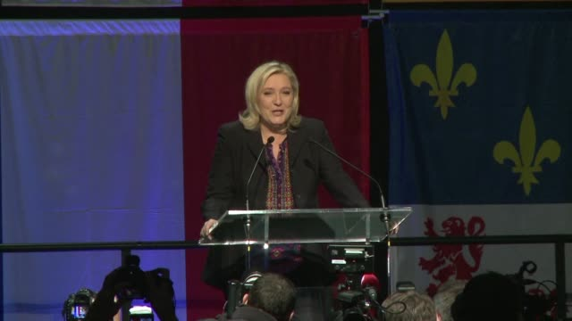 I want to express my gratitude president of the farright National Front party Marine Le Pen told voters after her party failed to win a single region...