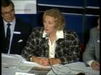 London Carisbrooke Hall Dame Vera Lynn speaking at War Widows pension rights PKF SEQ War widows seated