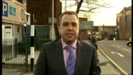 London West Drayton EXT Reporter to camera