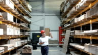 Warehouse inspection.