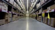 Warehouse moving inside