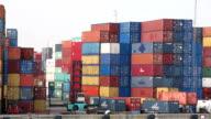 HD: warehouse Port background in Rotterdam Netherlands