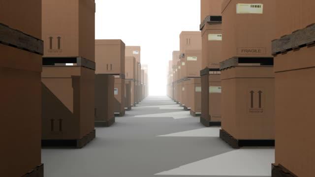 Memorizzazione di magazzino scatole Loopable