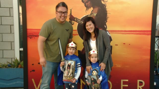 ATMOSPHERE Warner Bros Home Entertainment And Intel Present 'Wonder Woman In The Sky' at Dodger Stadium on September 14 2017 in Los Angeles California