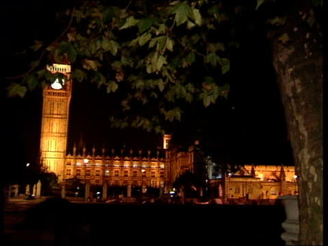 Warning of possible anthrax attack on Houses of Parliament LIB London Houses of Parliament Houses of Parliament from opposite bank of River Thames...