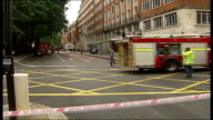 Emergency services at aftermath of 7/7 terrorist attacks