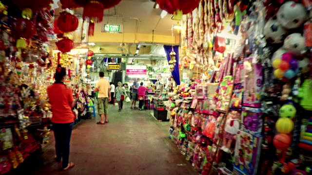 Warorot Market In Chiang Mai Thailand Stock Footage Video ...