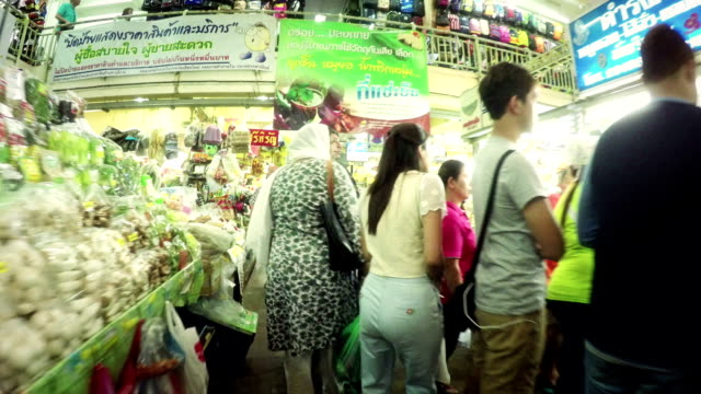 Warorot market in Chiang Mai Thailand