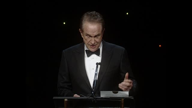 SPEECH Warren Beatty at 64th Annual ACE Eddie Awards in Los Angeles CA