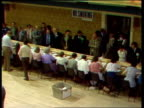 Warrington declaration WarringtonCount TS PAN counting votes CS SOF Returning officer giving results Roy Jenkins 12521 MS PAN gallery MS ROY...