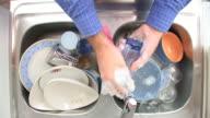 HD: Washing A Glass