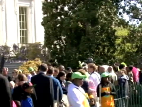 Raquel GodosSome 30000 people mostly children were invited to the White House South Lawn over the weekend as the First Family hosted the 134th annual...