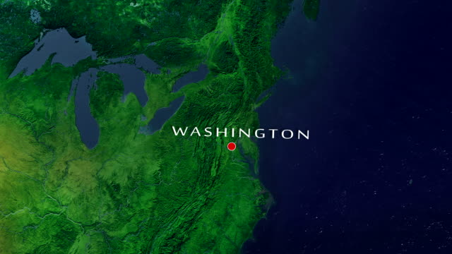 Washington D.C. 4K Zoom In