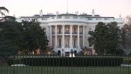 Washington DCClose view of White House in Washington DC United States