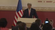 Washington has agreed to speed up arms sales to Gulf countries US Secretary of State John Kerry said Monday following talks in Doha on their concerns...