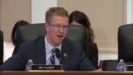 Washington State Congressman Derek Kilmer tells acting FBI Director Andrew McCabe at a House Appropriations subcommittee on the fiscal 2018 budget...
