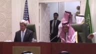 Washington will work to empower the Syrian opposition short of supplying arms US Secretary of State John Kerry said onMonday as his Saudi counterpart...
