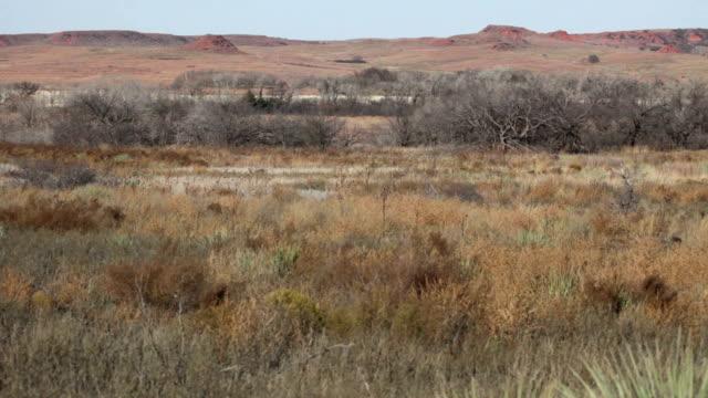 Washitaen Battlefield National Historic Site November dag Oklahoma