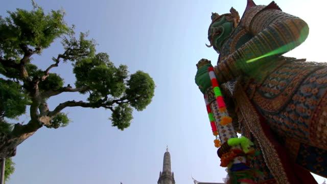 Wat Jaeng Giants sculpture at WAT ARUN TEMPLE