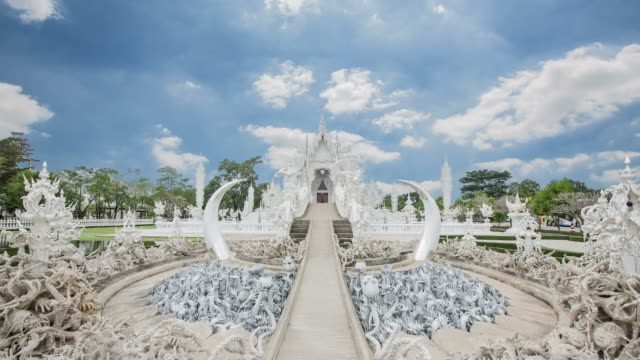 wat rong khun public attractions, beautiful architecture, outstanding