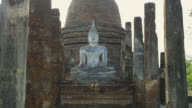 Wat Sa Si early evening, SUKHOTHAI, Thailand