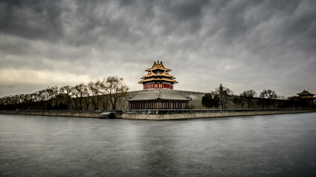 T/L WS Watchtower of the Forbidden City / Beijing, China