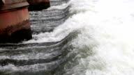 Water Dam Close Up