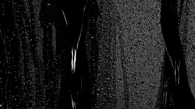 Water drops rain on a window