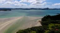 Water, ocean, Mercury Bay, landscape, forest, countryside