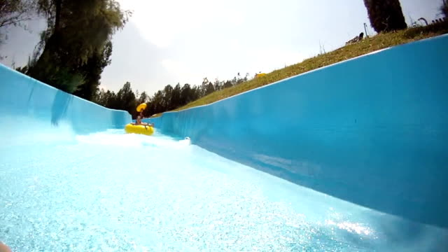 Water park river