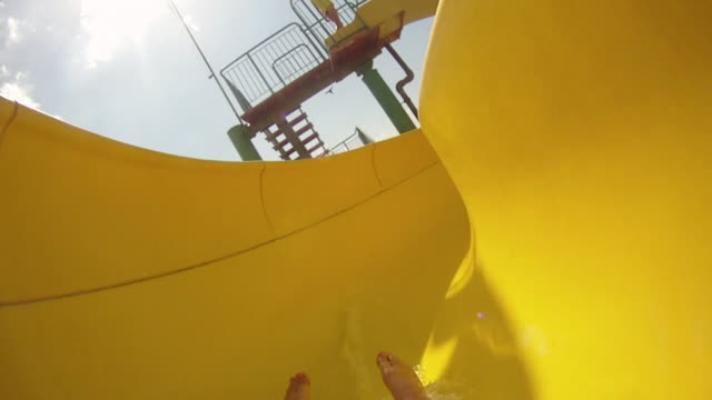 Water Park, slope down - HD