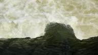 CU Water passing barrage dam