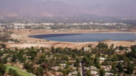 Water reservoir in mountainous climate
