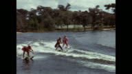 1954 MONTAGE Water ski show, Winter Haven, Florida, USA