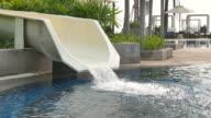 Water tube slider