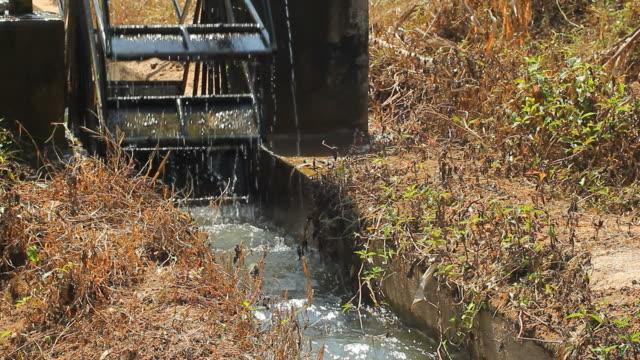 Water wheel irrigation