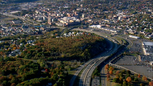 Waterbury  - Aerial View - Connecticut,  New Haven County,  United States