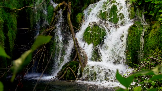 SLO MO Waterfall At Plitvice