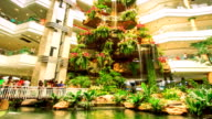 Waterfall in Bangkok Thailand Shopping Mall