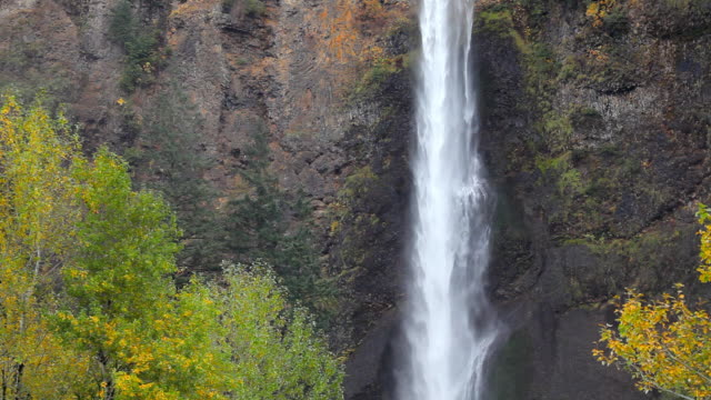 waterfall - multnomah falls in Oregon