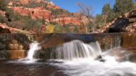 Waterfall on Mountain Stream Sedona Arizona