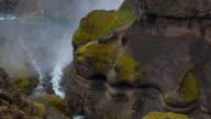 Waterval aan de rand van de hooglanden