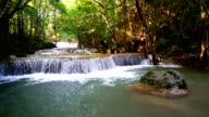 LD, Waterfall standing water in thailand, Huay or Huai mae khamin