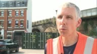 Waterloo Station platforms reopen after expansion EXT Simon Blanchflower interview SOT