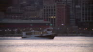 NY Waterway Ferry Going Along the Hudson