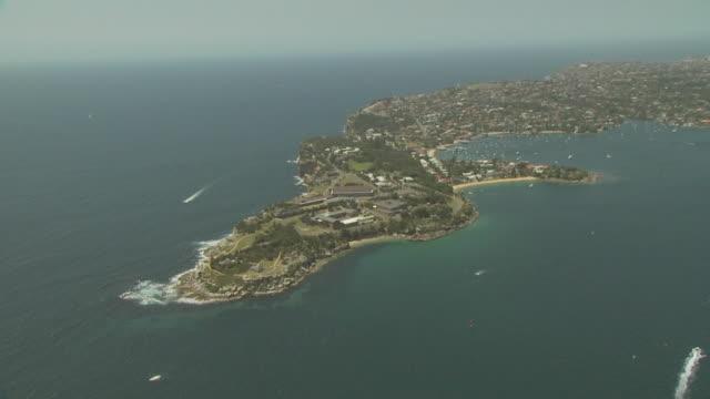 HMAS Watson Naval base, NSW, Australia, from the air