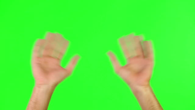 Wave uw handen in de lucht!