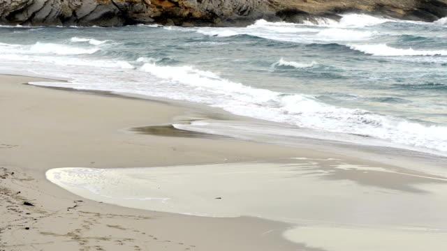 Waves at beach